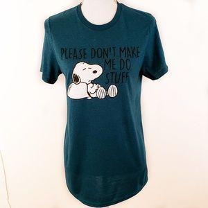 Peanuts women's size small shirt